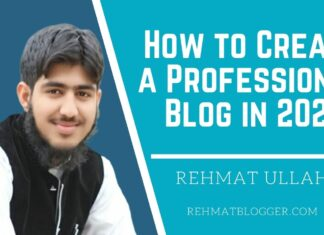How to Create a Professional Blog in 2021